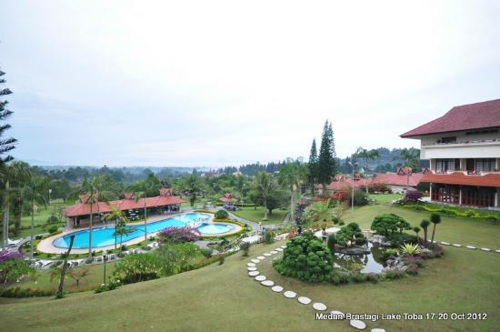 Sinabung Resort Hotel: Nice view