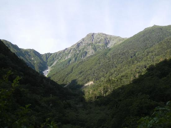 Mt. Kitadake: 広河原から見た北岳