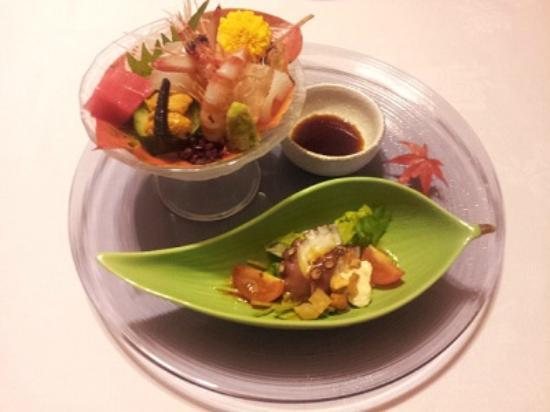 Takechiyo Kirishima Bettei: 夕食から一品