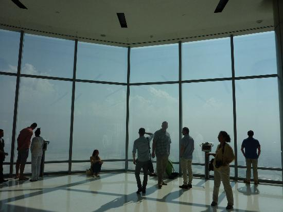 Inside Viewing Area Picture Of Burj Khalifa Dubai