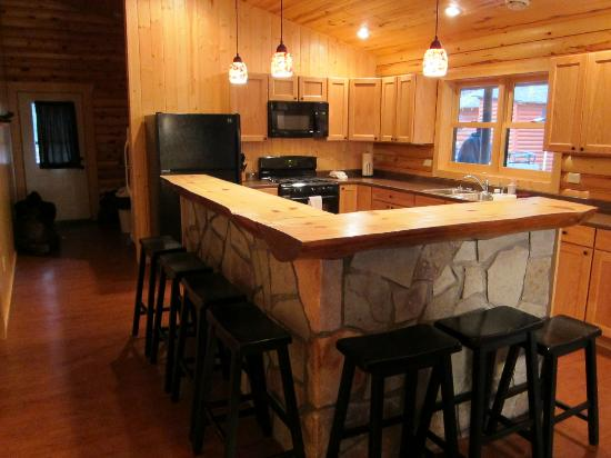 Eagle Nest Lodge: New Custom Kitchen With Two Refrigerators