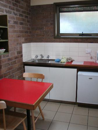 Kitchen at Beachfront Motel, Apollo Bay