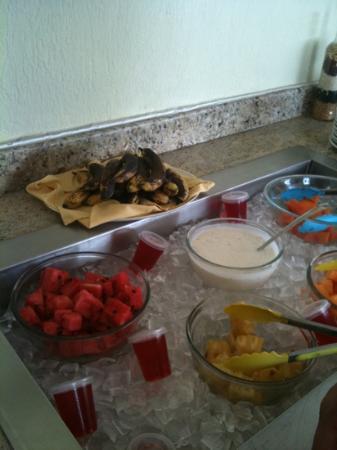 City Suites San Luis Potosí: esto es la prueba del buffet. Hay q mejorar esto!!