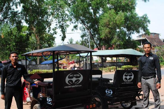 Siem Reap Bat Hotel: Free pick up and transfer from air port