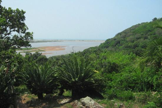 KwaZoeloe-Natal, Zuid-Afrika: Amatikulu River Mouth