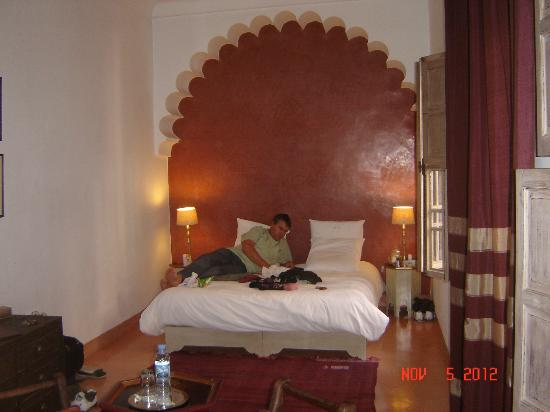 Riad Altair : our room
