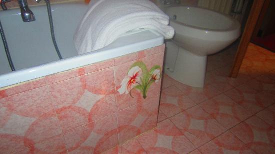 Grand Hotel Milano: vasca da bagno