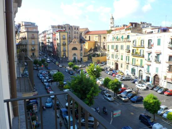 Palazzo Caracciolo Napoli MGallery by Sofitel: View to the left from our balcony.....