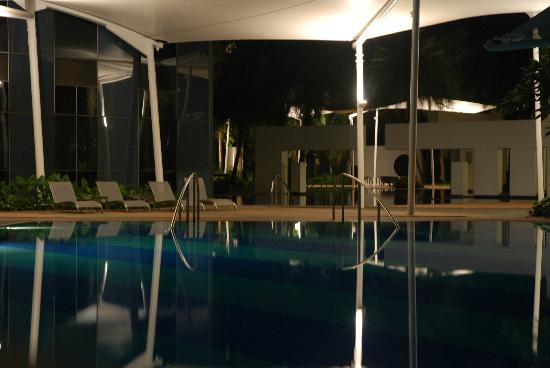 Orchard Scotts Residences by Far East Hospitality: Relax pool at night