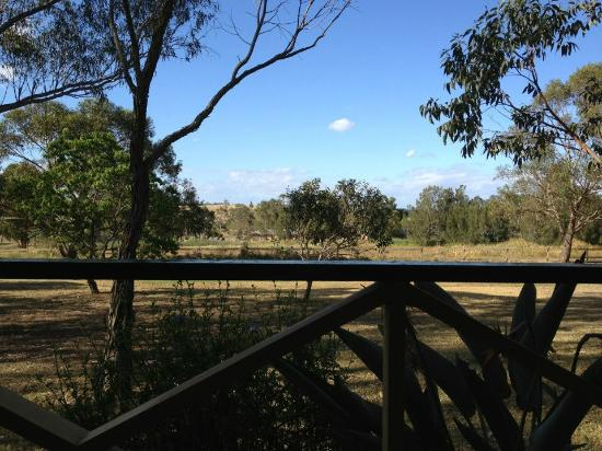 Pokolbin Village: View from the unused verrandah - beautiful!!