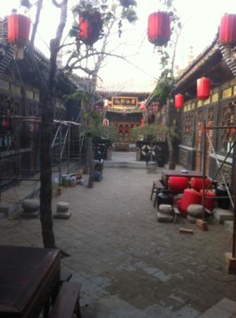 Pingyao Cheng Jia Hotel : patio de la casa