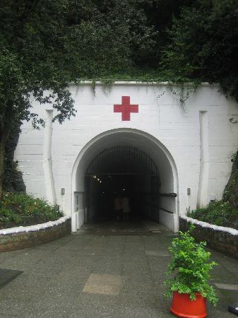 Tunnels Entrance - Picture of Jersey War Tunnels