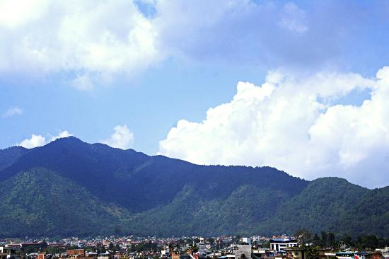 Hotel Encounter Nepal: balcony view (mountain)