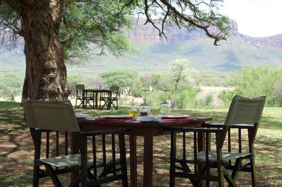 Marataba Safari Lodge: Lunch im Freien