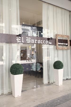 El Barocco Time: entrée du restaurant