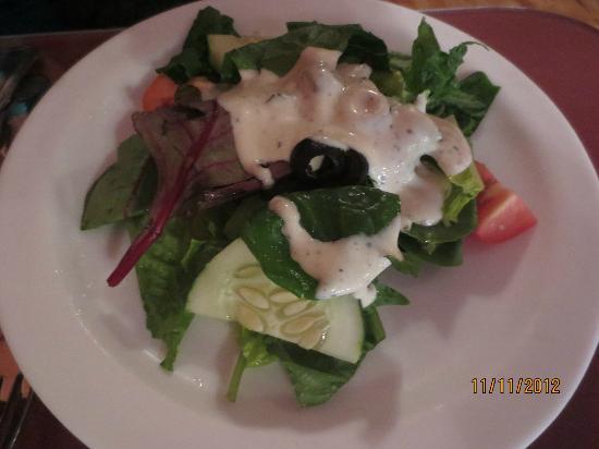 Fiore's IV Italian Restaurant: House salad