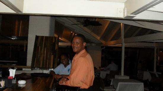 blu St Lucia : one of the staff