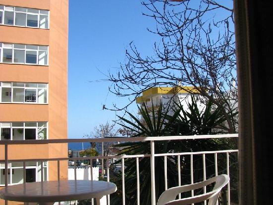 El Velero Apartments: from the hotel window