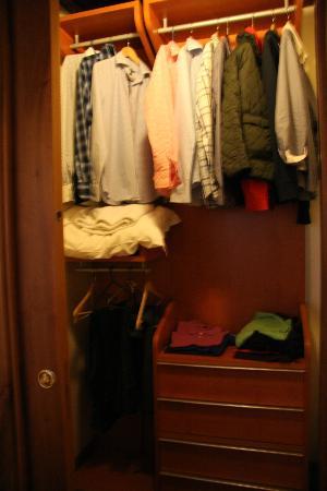 Apartments Casa Navona: ropero / vestidor