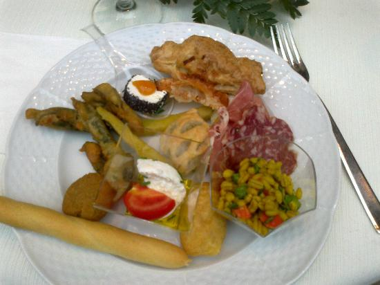 Villa Toscanini: il buffet