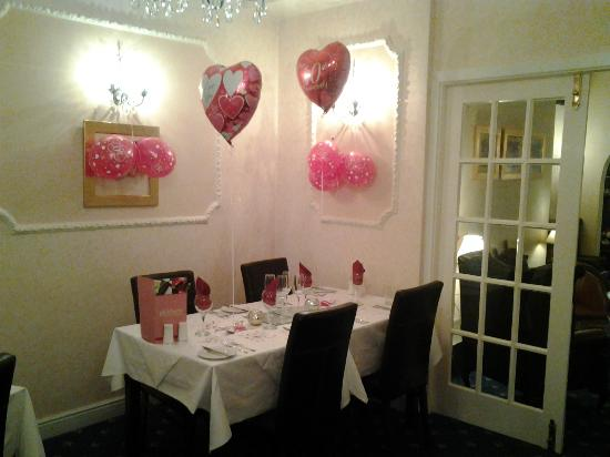 The Glenburn Hotel & Restaurant: My Sister And Brother in laws celebration