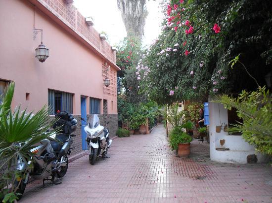 Inezgane, Maroc : Veduta dell'interno dell'hotel