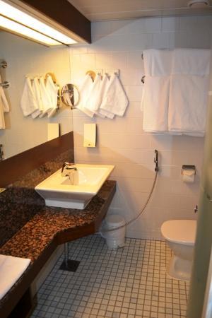 Original Sokos Hotel Vaakuna: Ванная комната
