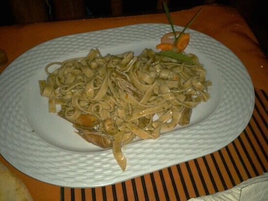 Ciao Italia : Seafood Tagateli-Michelin 5 star offering!