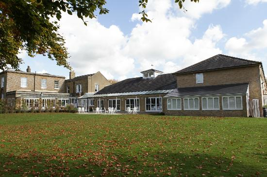 Hadlow Manor Hotel: Outside October 2012