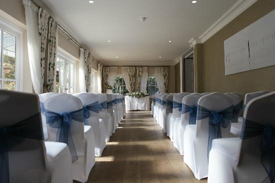 "Hadlow Manor: Ceremony ""Garden Room"""