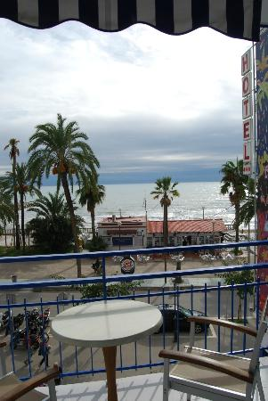 Hotel Platjador: View from the second floor
