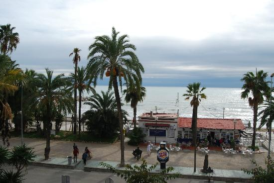 Hotel Platjador: View to the beach