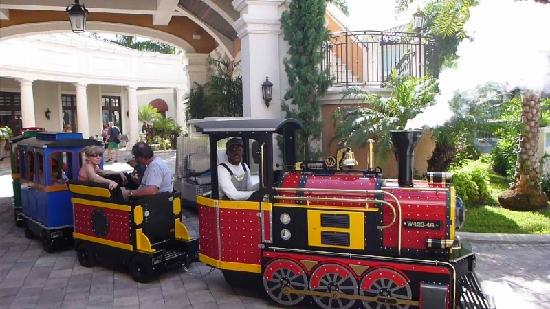 Beaches Turks and Caicos Resort Villages and Spa: New Train at BTC