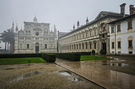 Certosa di Pavia - church frontal view - Picture of Certosa di Pavia ...
