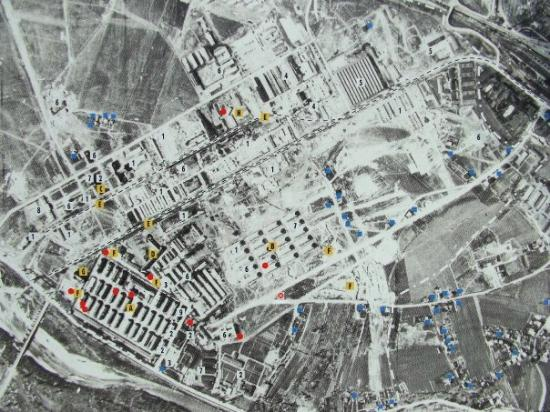 Aerial View Of Site Picture Of Auschwitz Birkenau State