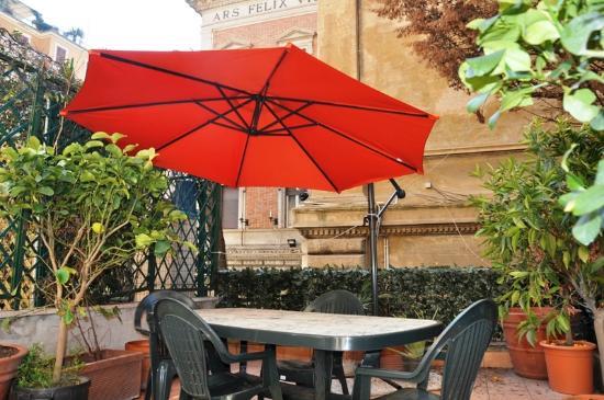 Tiffany Roma Suite: terrazza