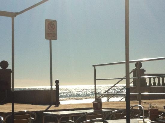 Chiringuito: vistas al mar