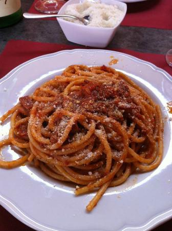 Glamour Restaurant: Bucatini all' Amatriciana