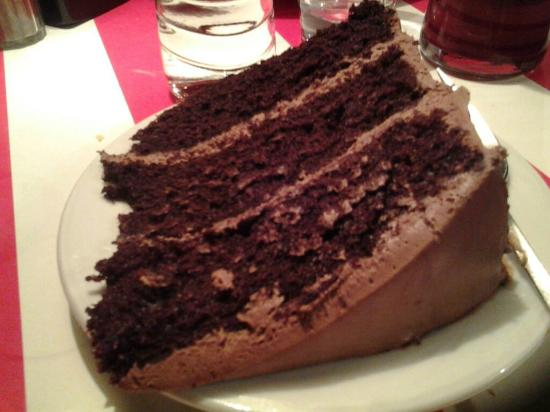 TGI Fridays: Chocolate Cake