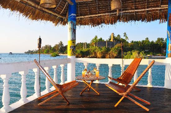 Chuini Zanzibar Beach Lodge: Sea View Deck