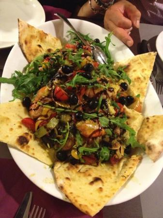 Viserba, Italien: la paella
