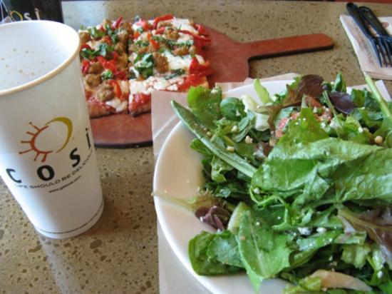 Great Little Find in Rosslyn - Review of Cosi, Arlington, VA ...