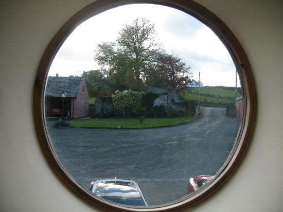 Rowton Barns: View from bedroom window