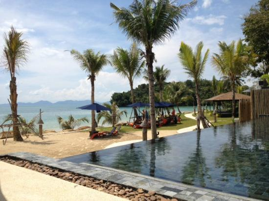 Beyond Resort Krabi: View from the pool