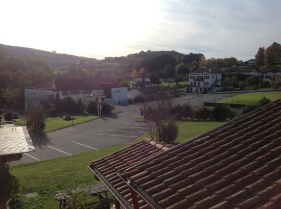 Hôtel Bergara : vu du balcon