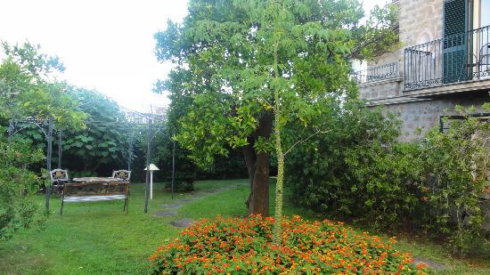 Alpha Hotel: Le jardin vraiment sublime après (et avant) la fournaise des visites