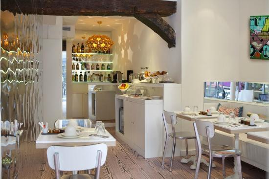 Hotel Georgette : Salle de petit dejeuner/ Breakfast room
