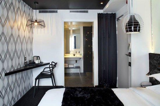 Hotel Georgette : Chambre Opt Art