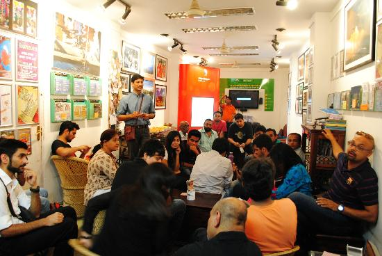 Kunzum Travel Cafe: The cafe during an event