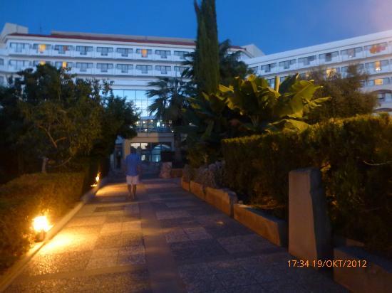 Hotel St. George: garden area